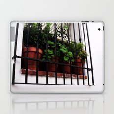 Whitewashed Walls Laptop & iPad Skin