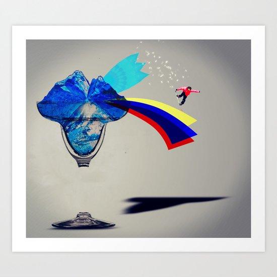 MixMotion: Frozen Drinks Art Print