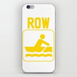Row the Boat iPhone Skin
