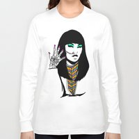 henna Long Sleeve T-shirts featuring Henna by rbengtsson