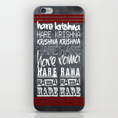 Hare Krishna iPhone & iPod Skin