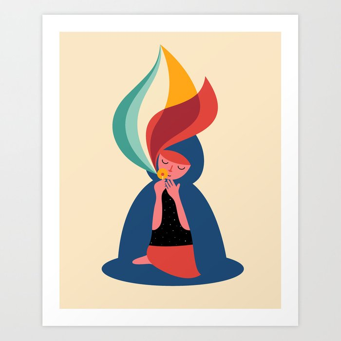 Discover the motif WISH by Andy Westface as a print at TOPPOSTER