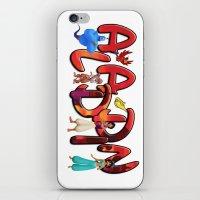 aladdin iPhone & iPod Skins featuring Aladdin  by Mix-Master