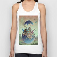 imagination Tank Tops featuring Imagination  by dreamshade