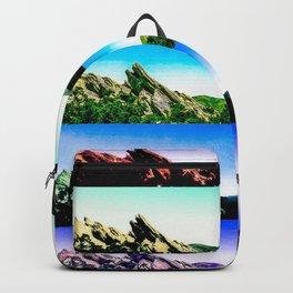 Vasquez Rocks Collage Backpack