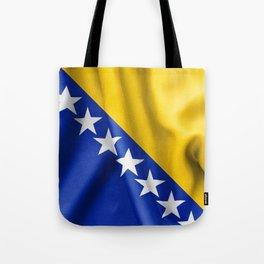 Bosnia and Herzegovina Flag Tote Bag