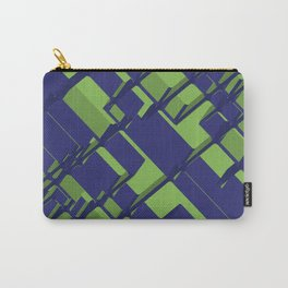 3D Abstract Futuristic Background III Carry-All Pouch
