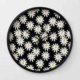 Daisies by Andrea Lauren Wall Clock