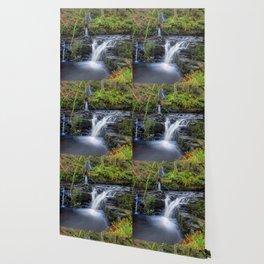 Woodland Falls Wallpaper