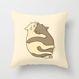 Feline it Throw Pillow