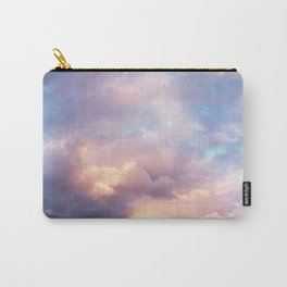 Sunset | Pink Clouds | Sky | Rainbow | Unicorn Colours | Nature Carry-All Pouch