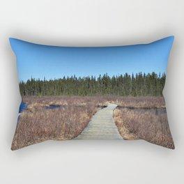 Algonquin walks Rectangular Pillow