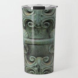 Copper door knob Travel Mug