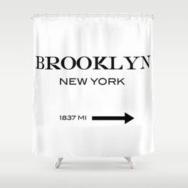 Brooklyn Shower Curtain