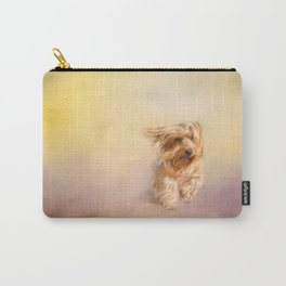 Into the Wind - Yorkshire Terrier Carry-All Pouch