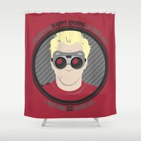 neil gaiman Shower Curtains featuring [ Doctor Horrible ] Dr. Sing-Along Blog Neil Patrick Harris by Vyles