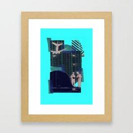 Plans Plain Framed Art Print
