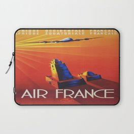 Vintage poster - French West Africa Laptop Sleeve