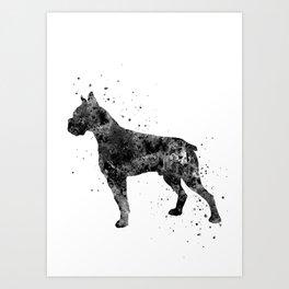 Boxer, boxer dog Art Print