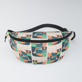 Two birds dancing Fanny Pack
