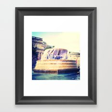 Fountain of Trafalgar Framed Art Print