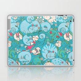 Sleepy Animal Forest Laptop & iPad Skin
