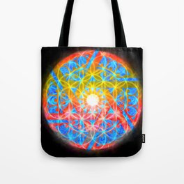 The Wheeled Flower Tote Bag