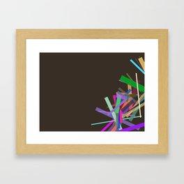 Oblique N°4 Framed Art Print