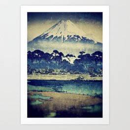 Staying at Yugen Art Print