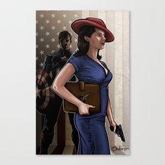 Secret Agent Canvas Print