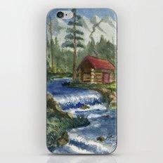 Peaceful Cabin iPhone & iPod Skin