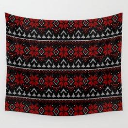 Scandinavian, knitting Wall Tapestry