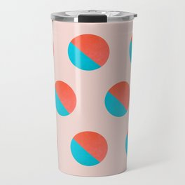 Abstraction_DOT_LOVE_002 Travel Mug