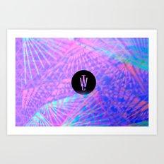Tropicool Art Print
