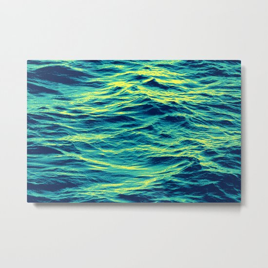 OVER THE OCEAN Metal Print