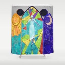 Vidriera Shower Curtain