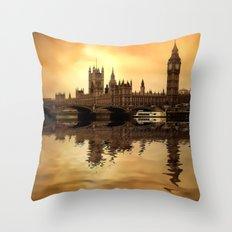 London art Throw Pillow
