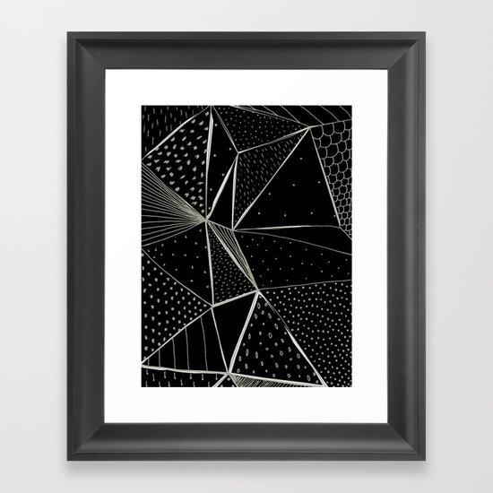 Abstract 07 Framed Art Print