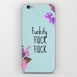 Floral Design iPhone Skin