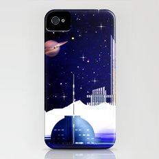 Extra-solar ice moon. Slim Case iPhone (4, 4s)