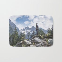 Over the Valley Bath Mat