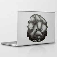 nope Laptop & iPad Skins featuring Nope by Tobe Fonseca