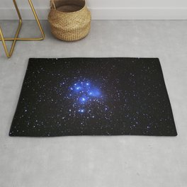 the Pleiades or Seven Sisters in Taurus Rug