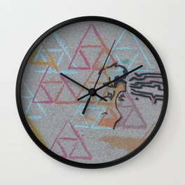 Triforce Echoes Wall Clock