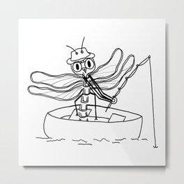 Summe pleasures - Fishing Metal Print