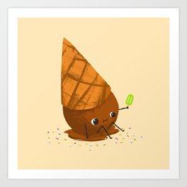 We All Scream for Ice Cream Art Print