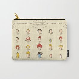 The Marvelous Cartoon Wigs Museum Carry-All Pouch
