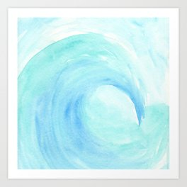Surf Time Art Print