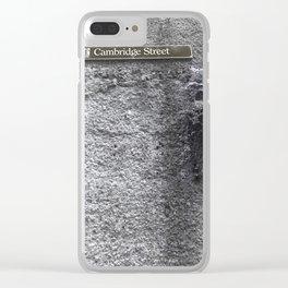 Cambridge Street Sydney Clear iPhone Case