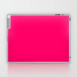 Bright Fluorescent Pink Neon Laptop & iPad Skin